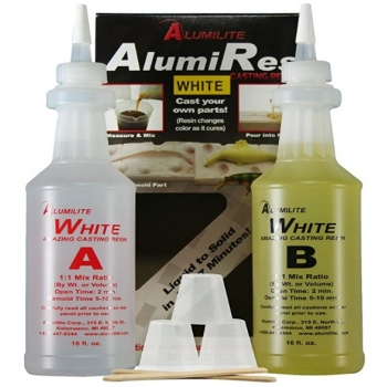 Amazing Casting Resin White Kit - Kit A-B - 32oz.