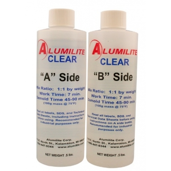 Alumilite -  Clear  Kit  A-B 1lb